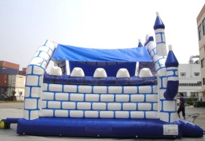 Big Blue Jumping Castle