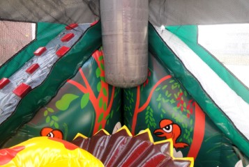 Jurassic Adventure - dinosaurs, slides, jumping around for loads of fun!